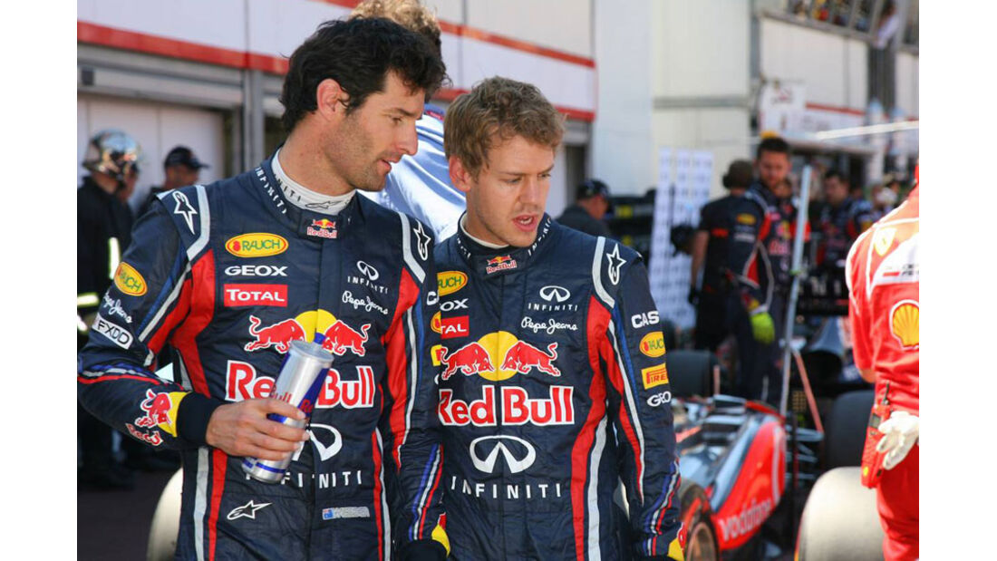 Webber und Vettel GP Monaco 2011