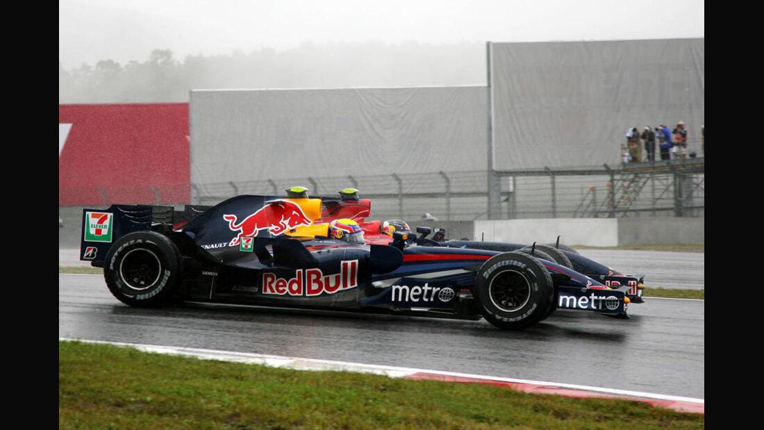 Webber und Vettel - Japan 2007