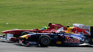 Webber vs. Massa