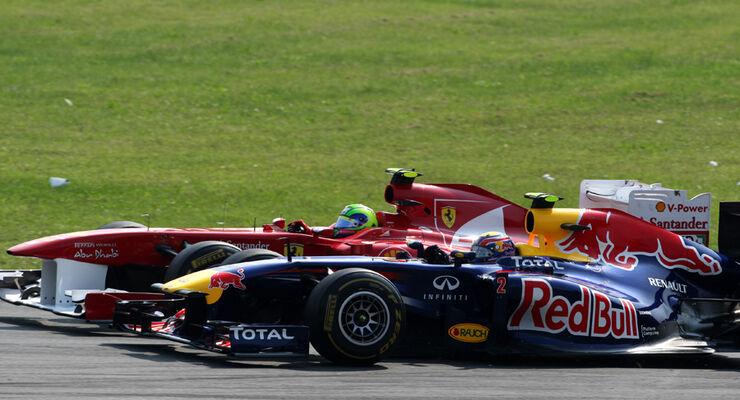 Webber vs. Massa