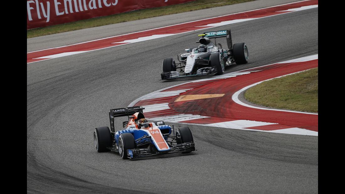 Wehrlein & Rosberg - GP USA 2016