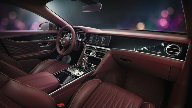 Weihnachten 2020 Bentley Flying Spur V8 Sondermodell Santa