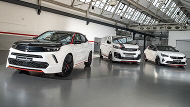 Weiße Flotte von Irmscher auf Opel-Basis