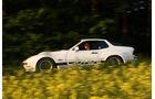 Weißer Porsche 924 Carrera GT