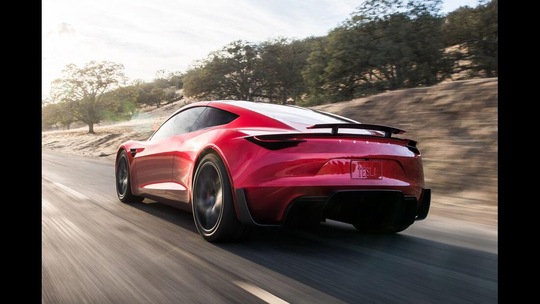 Weltpremiere Tesla Roadster (2020)