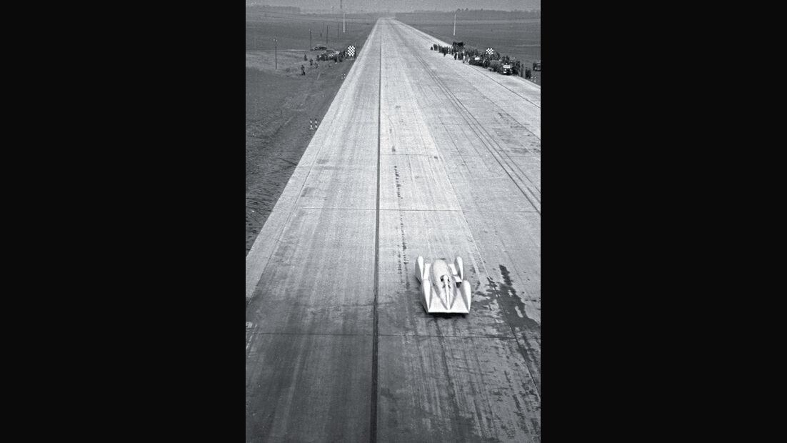 Weltrekordfahrt 1939, Rekordversuch