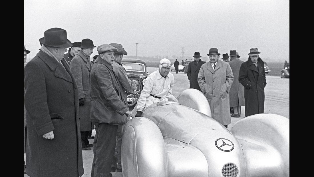 Weltrekordfahrt 1939, Rudolf Caracciola