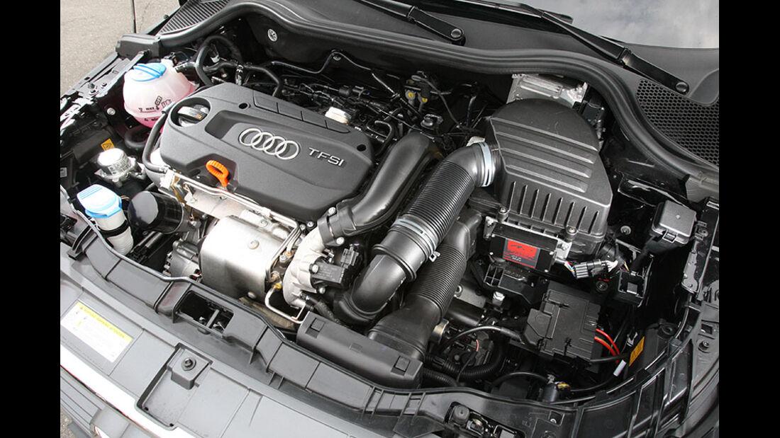 Wendland Audi A1 Motorraum