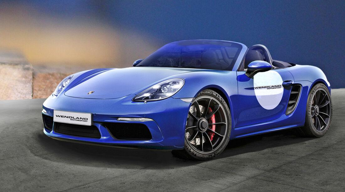 Wendland-Porsche 718 Boxster GTS - Tuning - Cabrio - sport auto Award 2019