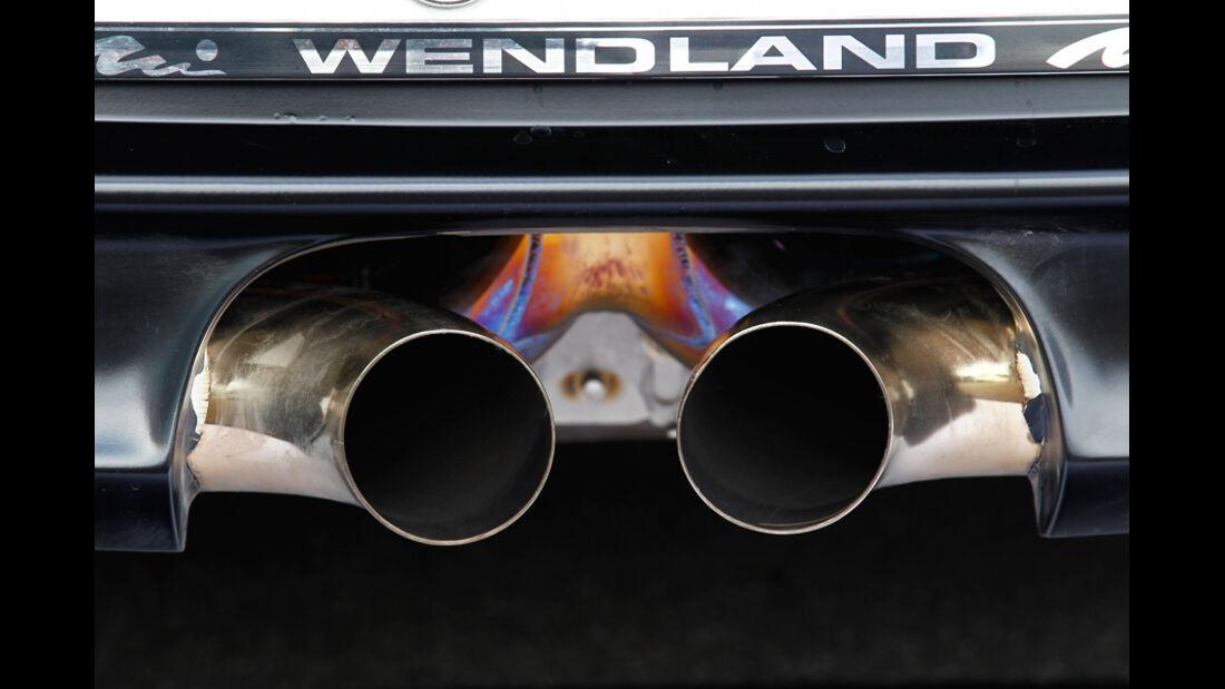 Wendland-Porsche 997 GT3 WRS 510, Auspuff, Auspuffanlage