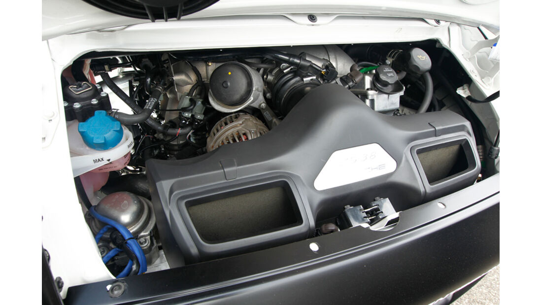 Wendland-Porsche 997 GT3 WRS 510, Motor, Motorraum