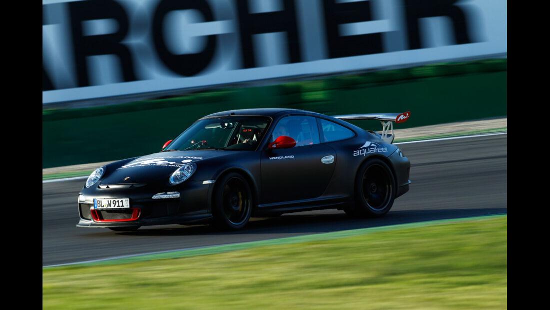 Wendland-Porsche 997 GT3 WRS 510, Seitenansicht, Rennstrecke