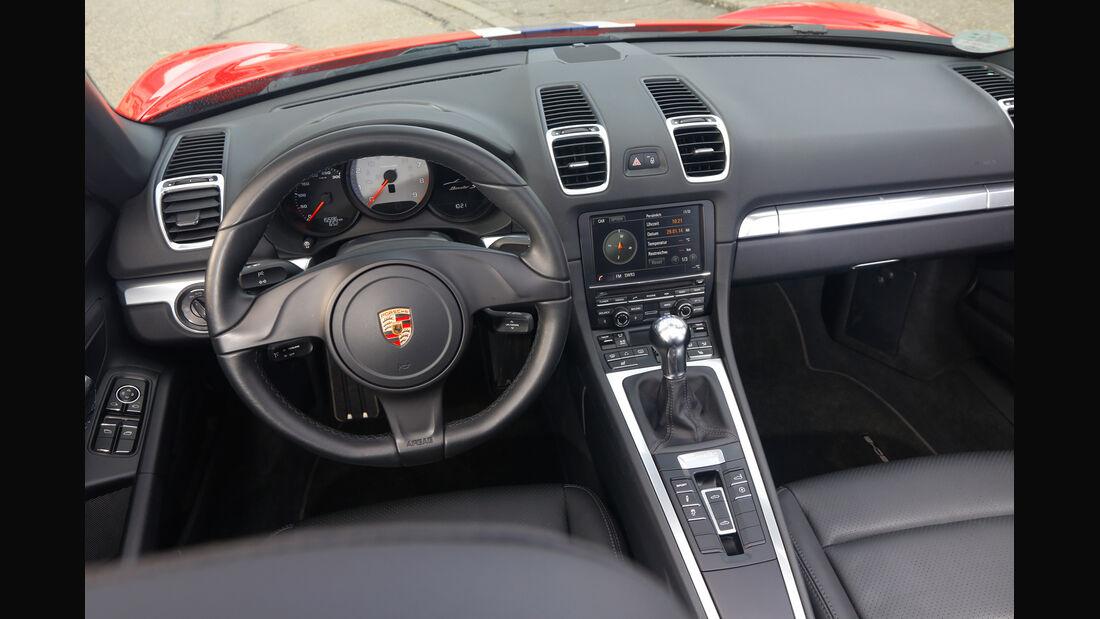 Wendland-Porsche Boxster S, Cockpit