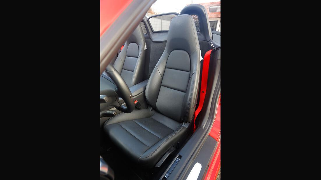 Wendland-Porsche Boxster S, Fahrersitz