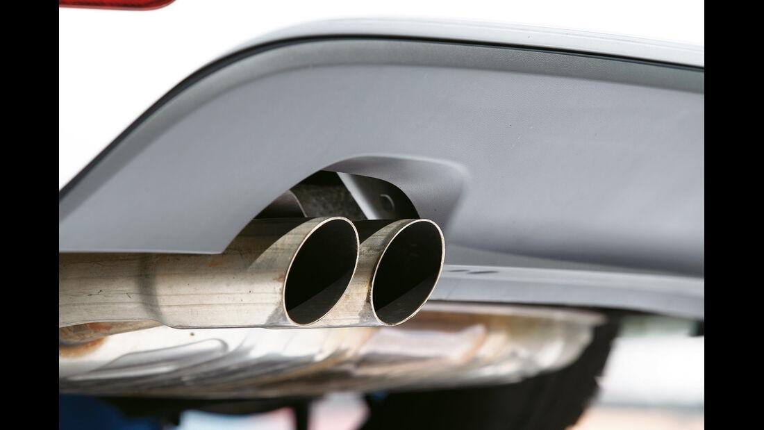 Wendland-VW Golf 1.4 TSI Cabrio, Auspuff
