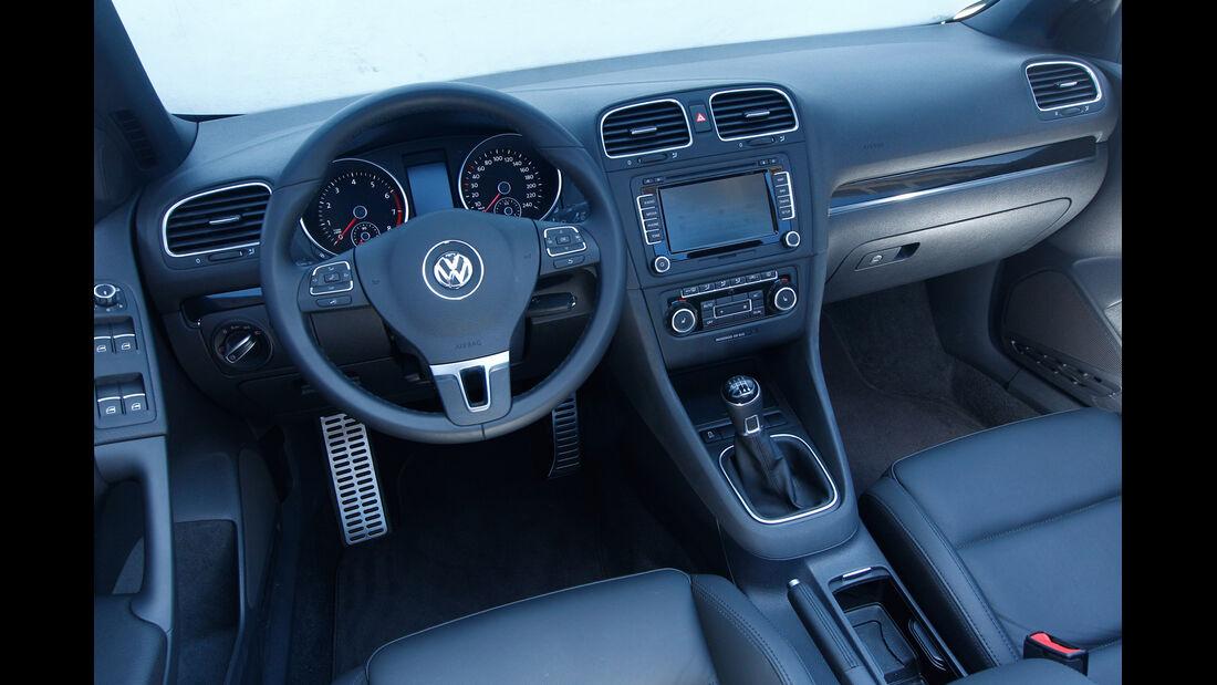 Wendland-VW Golf 1.4 TSI Cabrio, Cockpit