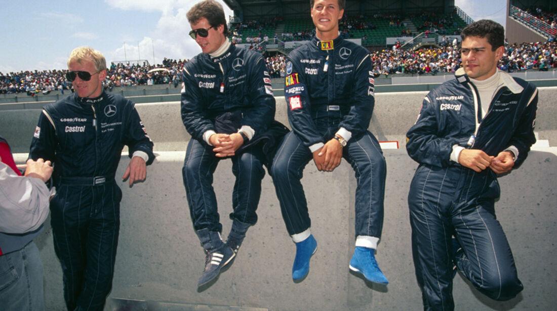 Wendlinger Schumacher Mercedes Sportwagen 1991