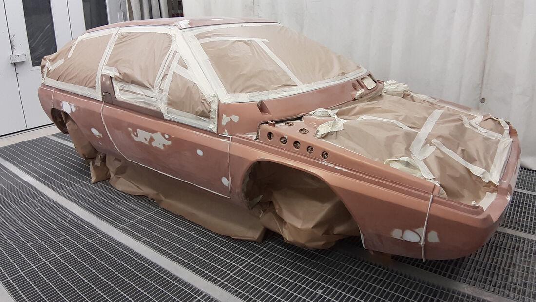 Werk-Restauration Mazda MX-81 Aria