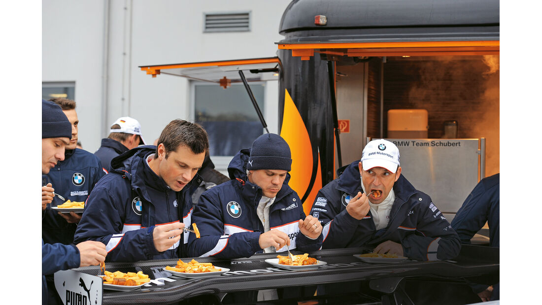 Werksfahrer, Essen, BMW-Team