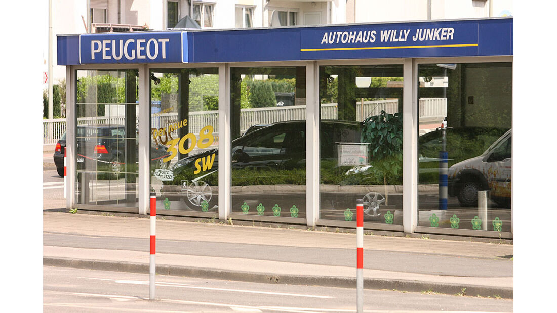 Werkstättentest Peugeot 2009