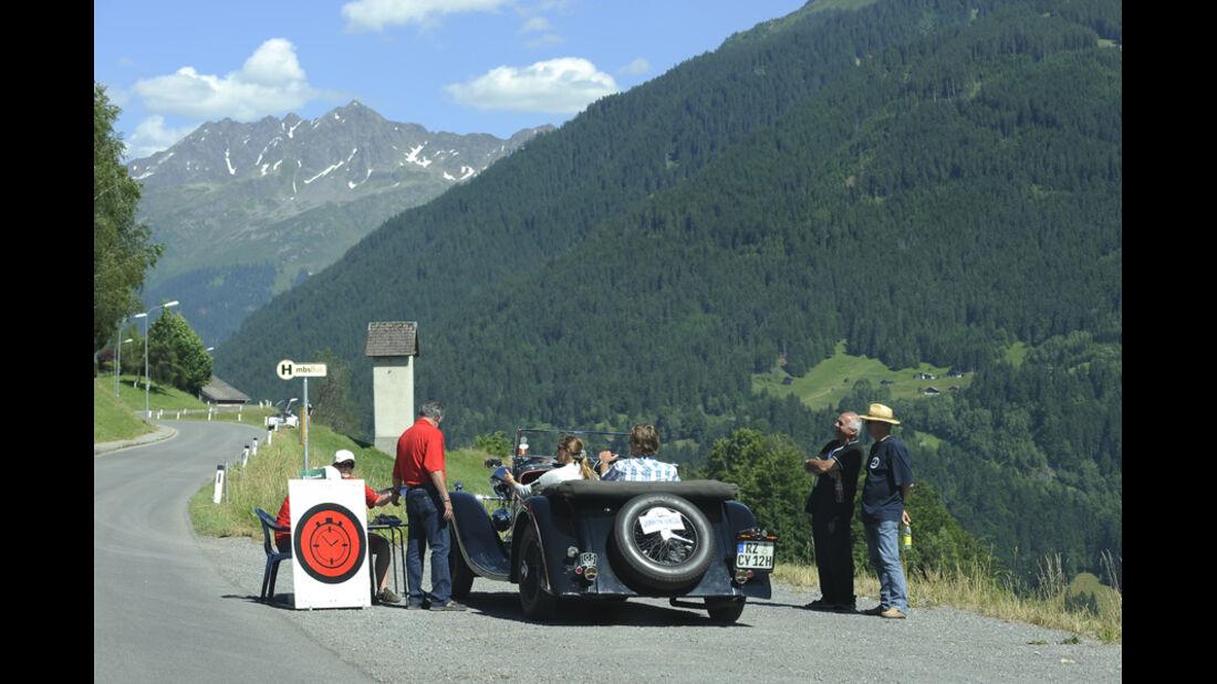 Wertungsprüfung -  Silvretta Classic 2010