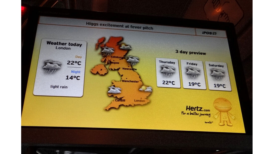 Wetter England 2012
