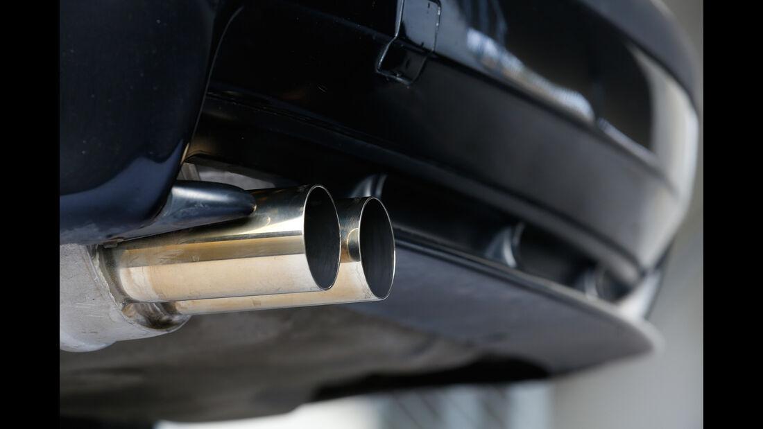 Wetterauer-BMW M3 E36 3.0, Endrohre