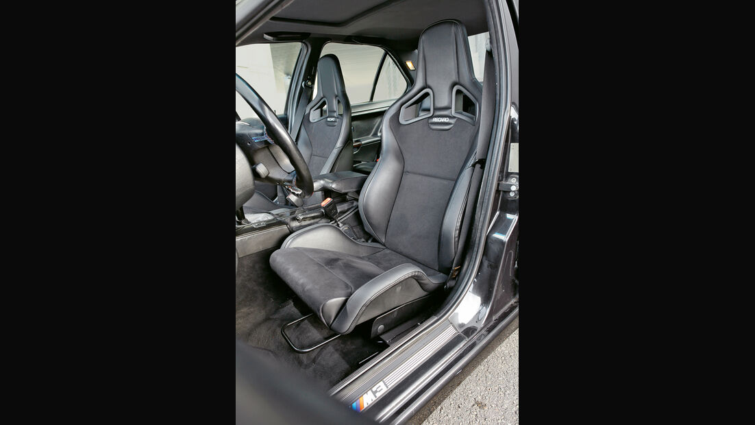 Wetterauer-BMW M3 E36 3.0, Fahrersitz