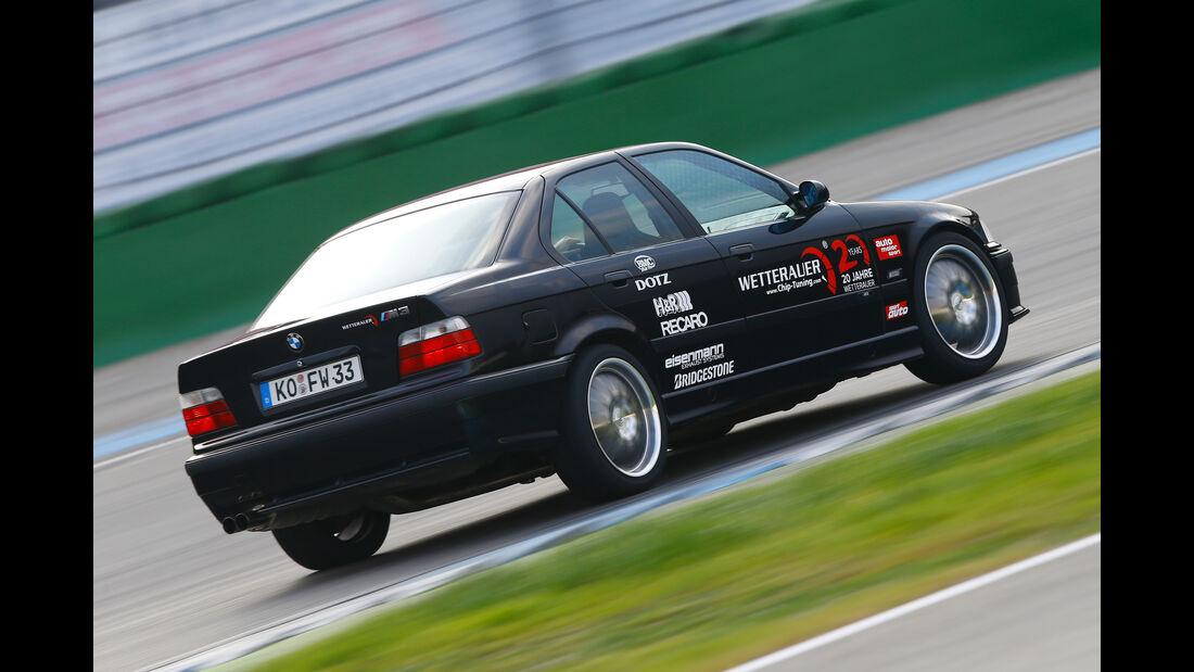 Wetterauer-BMW M3 E36 3.0, Heckansicht