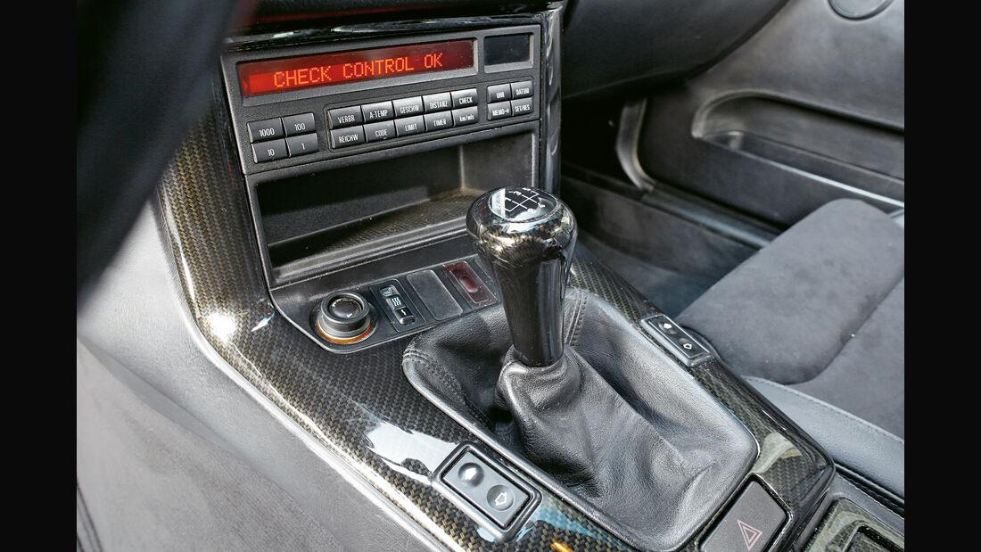 Wetterauer-BMW M3 E36 3.0, Mittelkonsole