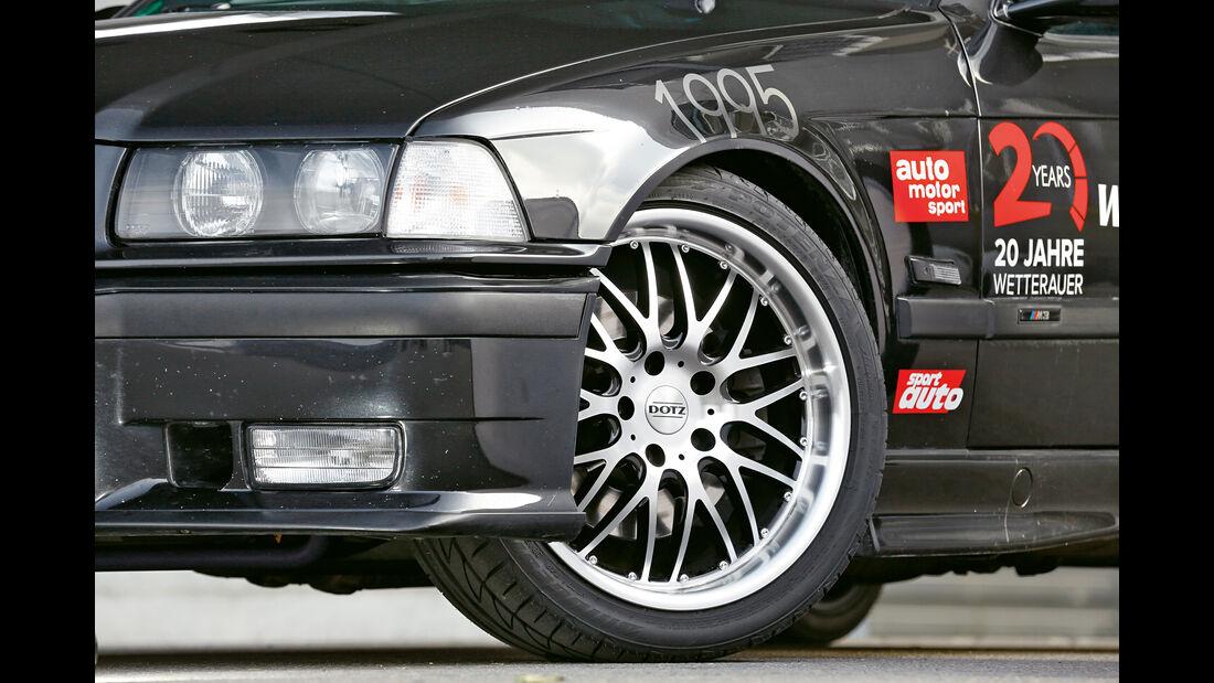 Wetterauer-BMW M3 E36 3.0, Rad, Felge
