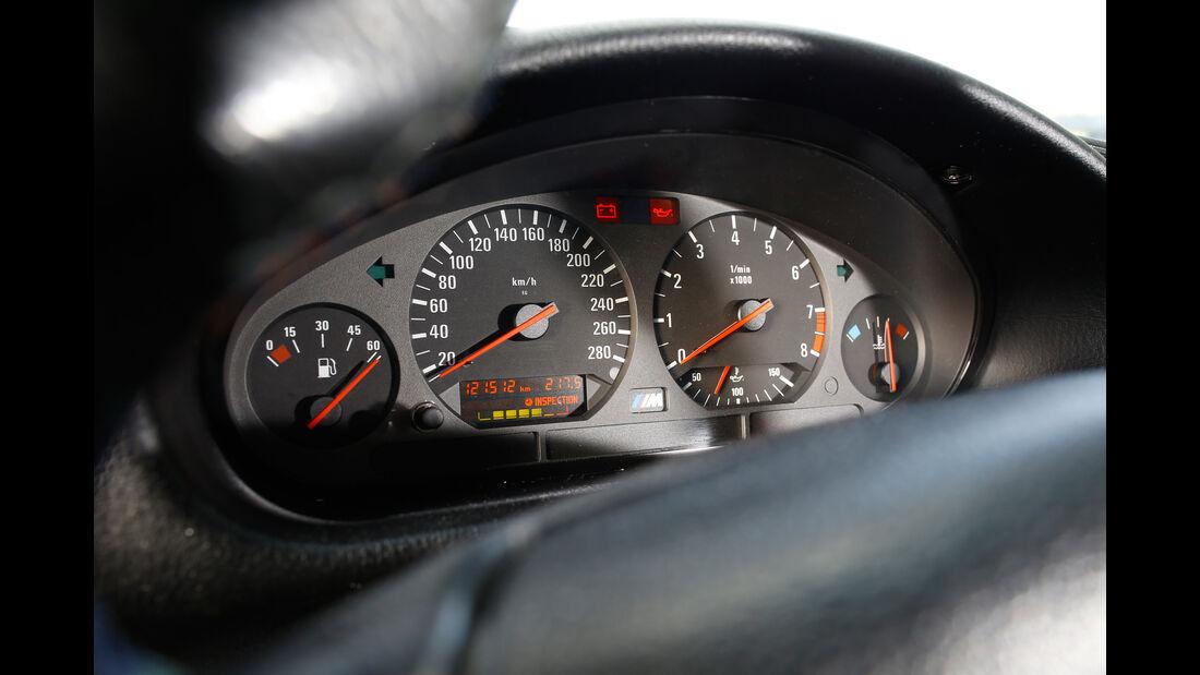 Wetterauer-BMW M3 E36 3.0, Rundinstrumente