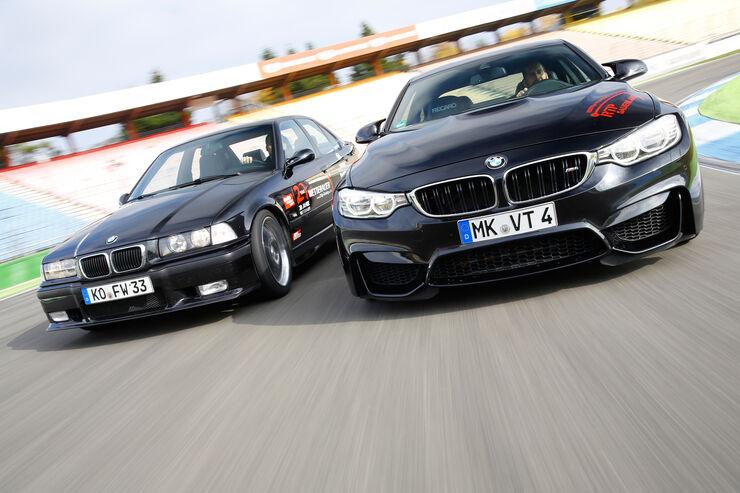 Wetterauer-BMW M3 E36 3.0, Wetterauer-BMW M4 F82, Frontansicht
