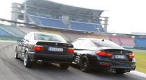 Wetterauer-BMW M3 E36 3.0, Wetterauer-BMW M4 F82, Heckansicht