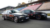Wetterauer-BMW M3 E36 3.0, Wetterauer-BMW M4 F82, Seitenansicht