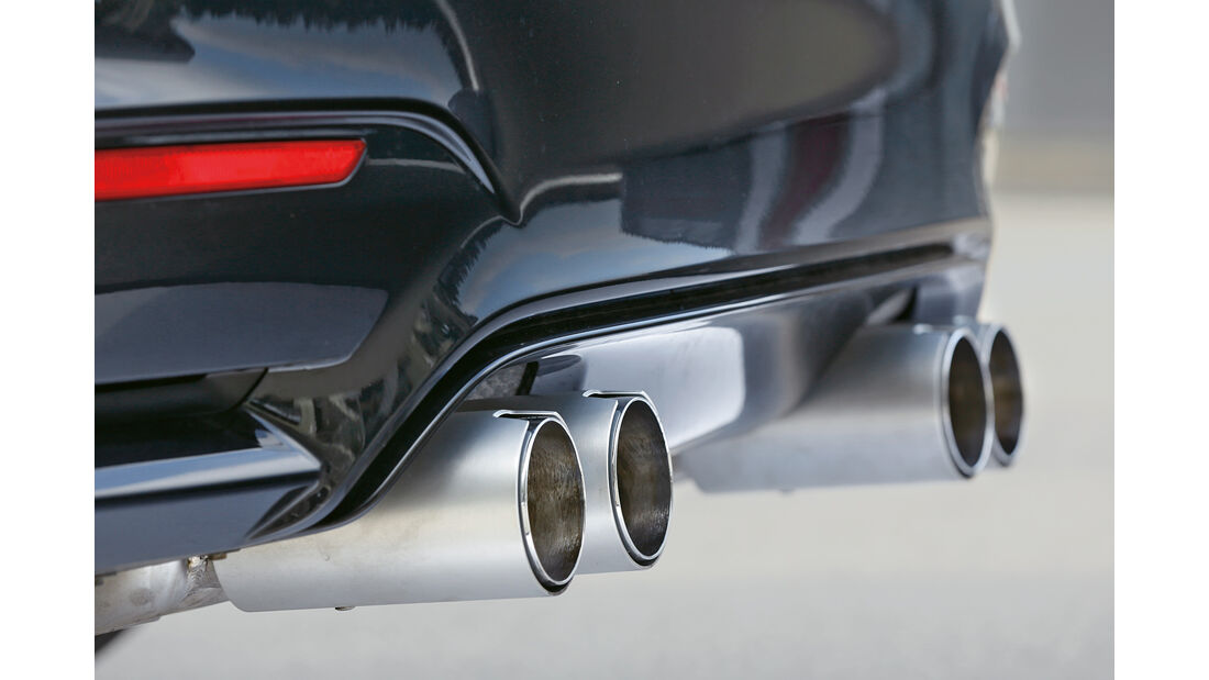 Wetterauer-BMW M4 F82, Endrohre