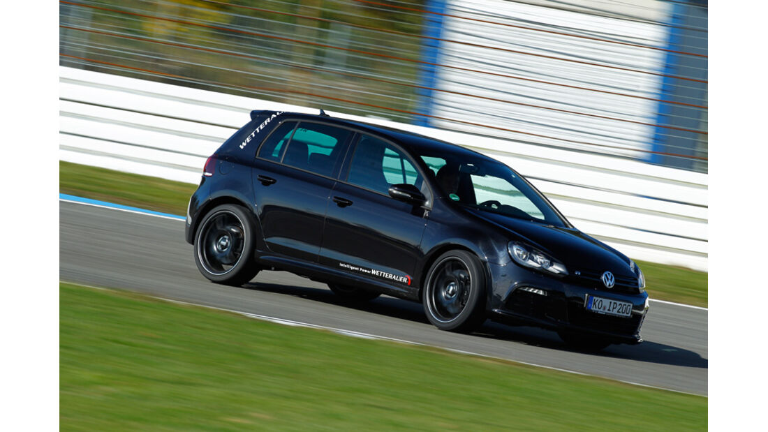 Wetterauer-VW Golf R, Bremsmanöver