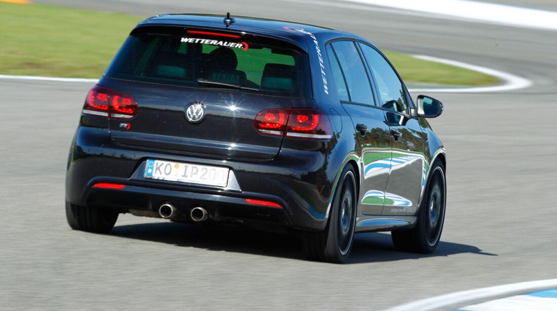 Wetterauer-VW Golf R, Heck