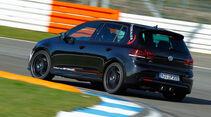 Wetterauer-VW Golf R, Kurvenfahrt