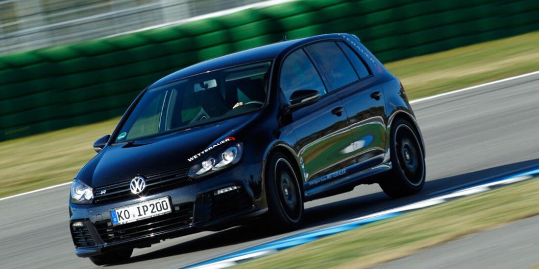 Wetterauer-VW Golf R, Seitenansicht
