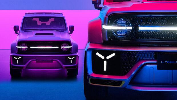 Wey Great Wall Cybertank Concept 2021