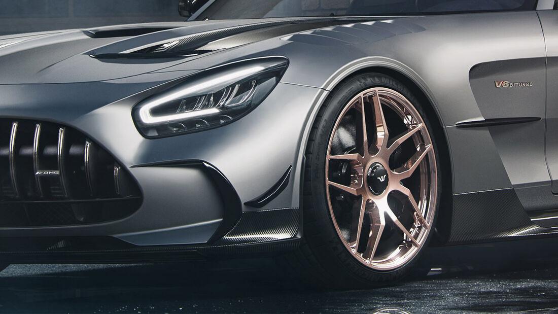 Wheelsandmore Mercedes-AMG GT Black Series Felge Zentralverschluss