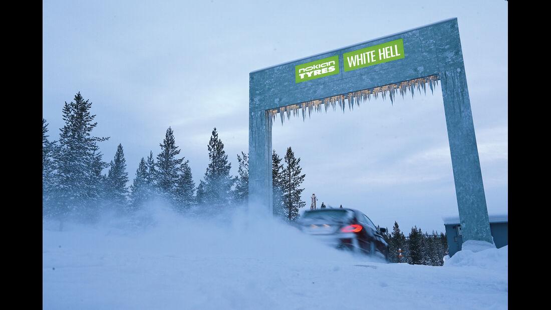 White Hell, Testgelände