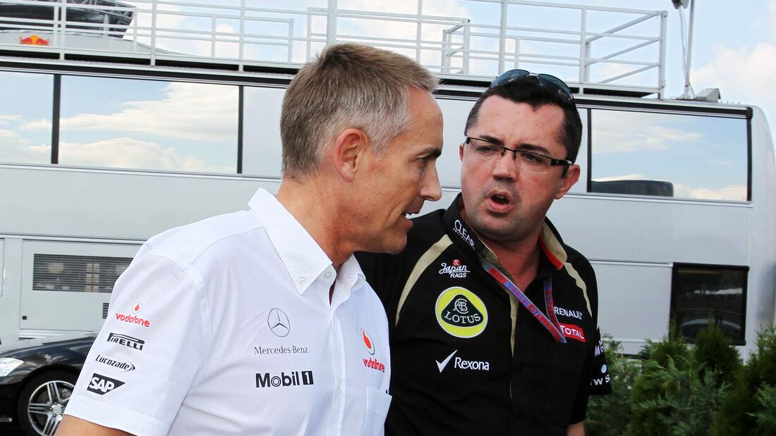 Whitmarsh & Boullier - Formel 1