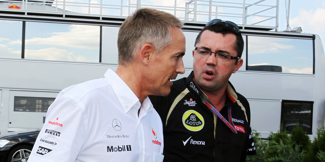 Whitmarsh & Boullier - Formel 1