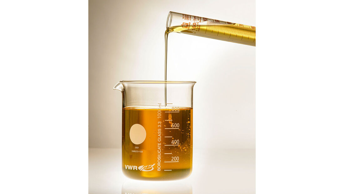Wie entsteht Motoröl, Motor Schmierstoff