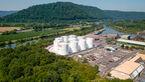 Wie entsteht Motoröl, Tanklager Dillingen