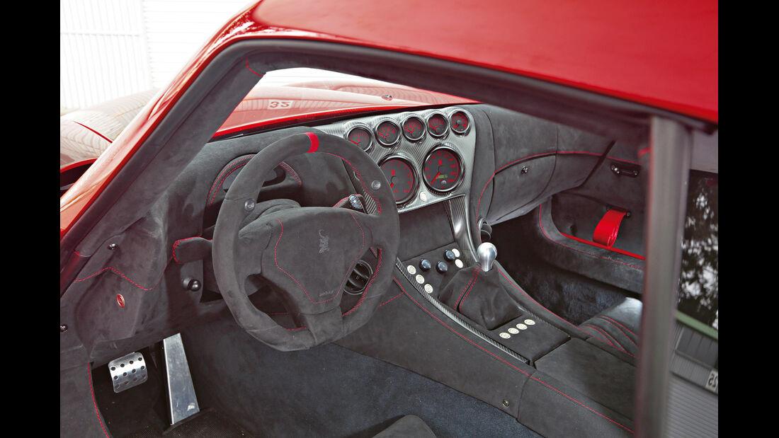 Wiesmann GT MF4-CS, Cockpit, Lenkrad