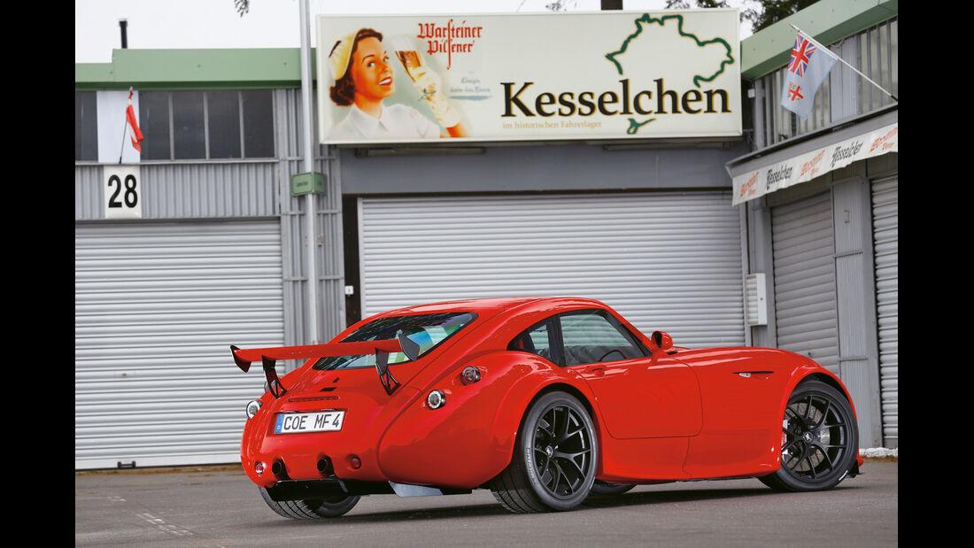 Wiesmann GT MF4-CS, Heckansicht