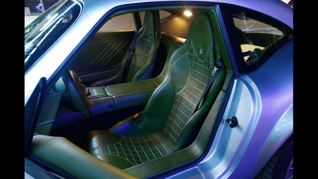 Wiesmann GT MF4-S, Detail, Innenraum, Fahrersitz